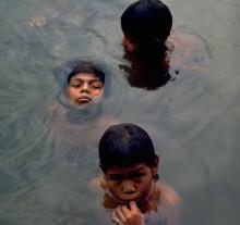 Meninos Urudão. Posto Tanajura, Rondônia, 1981